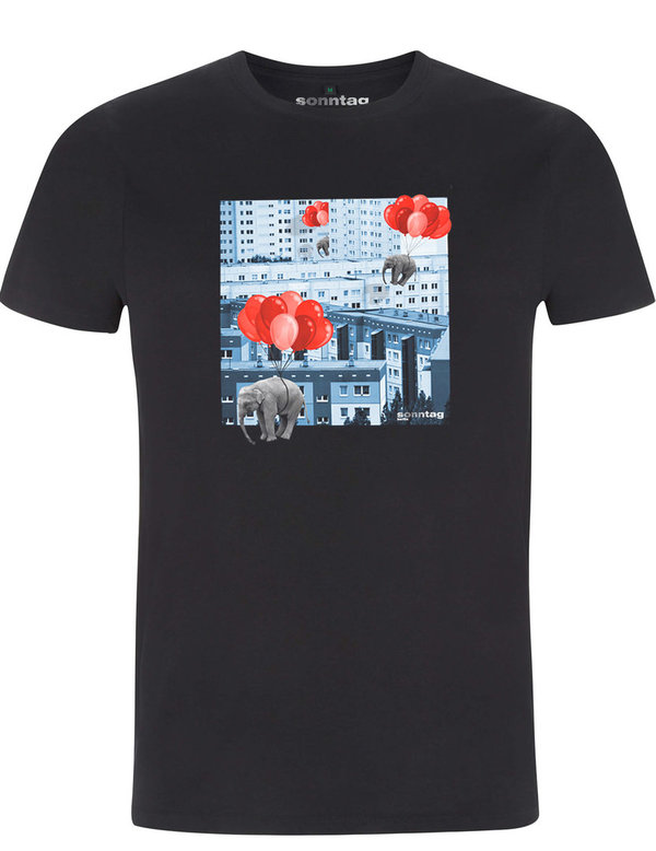 Flying Elephants – Unisex T-Shirt