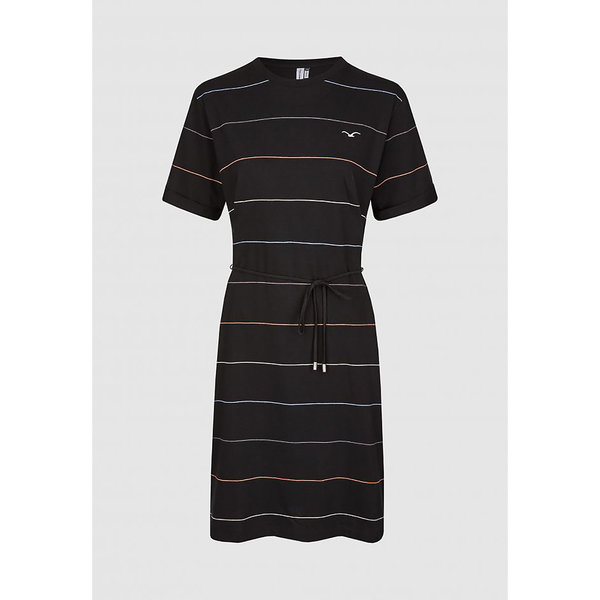 "CLEPTOMANICX | Knitted Dress ""Feel Stripe"""